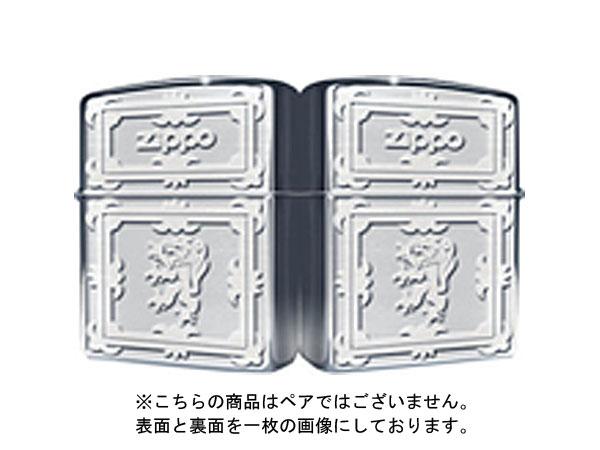便利雑貨 ジッポ ZIPPO ライター クラシカルエンブレム 銀サテーナ KE1-SS