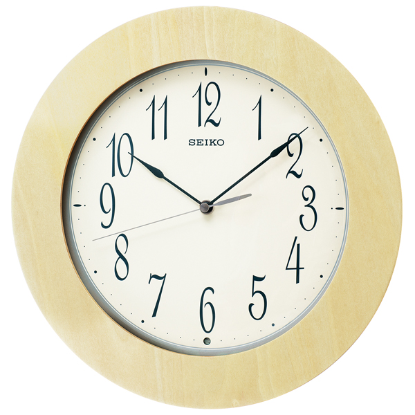 便利雑貨 セイコー SEIKO スタンダード 掛け時計 KX219A ホワイト