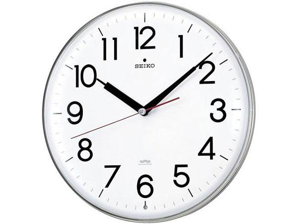 便利雑貨 セイコー SEIKO 電波時計 掛け時計 KX301H