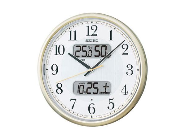 便利雑貨 セイコー SEIKO 電波時計 掛け時計 KX384S