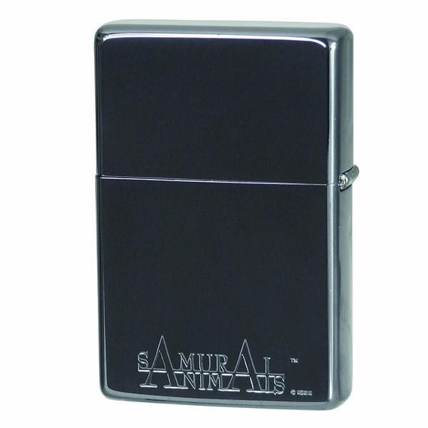 便利雑貨 ライテック サムライアニマルズ フレームライター MX-HX-T1 亥(シルバーアックス)