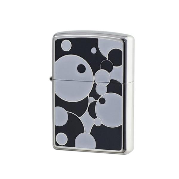 便利雑貨 メンズ ジッポ ZIPPO オイルライター POP ART 喫煙具 PPA-BWB ブラック