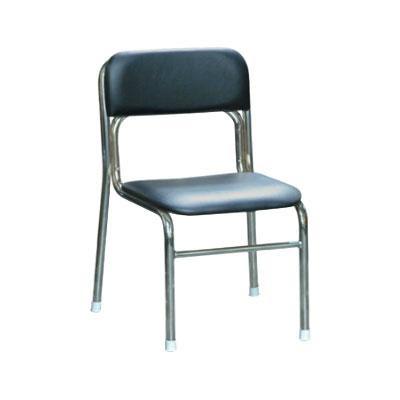シンプルな椅子です リブラ チェア ブラック クロムメッキ 父の日 価格 SL-34C人気 送料無料 商品 毎週更新 日用雑貨