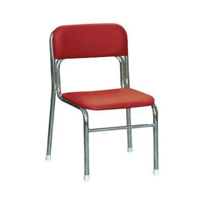 シンプルな椅子です リブラ チェア レッド クロムメッキ 商品 SL-34C人気 送料無料 日用雑貨 使い勝手の良い 最安値 父の日