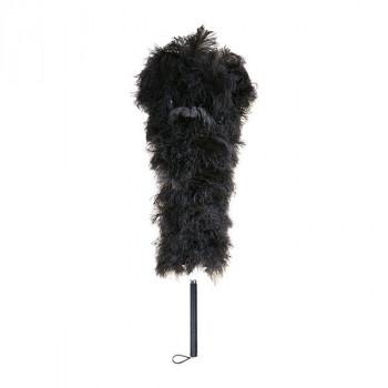単三電池 6本 おまけ付きベテラン職人が丁寧に手作りした毛ばたき スーパーセール 石塚羽毛 予約販売 オーストリッチ毛ばたき D100 日本製 1000mm