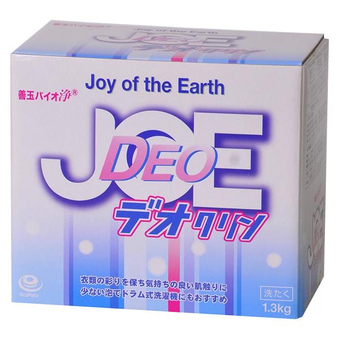 便利雑貨 善玉バイオ 浄 JOE デオクリン 1.3kg 洗濯洗剤 ×12箱セット