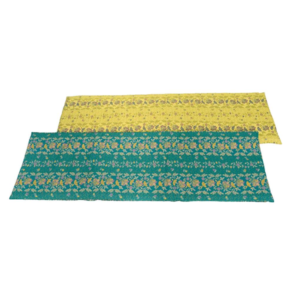 生活関連グッズ 川島織物セルコン MINTON(ミントン) カラーズオブハドン ロングシート 46×150cm LN1200・G(グリーン)
