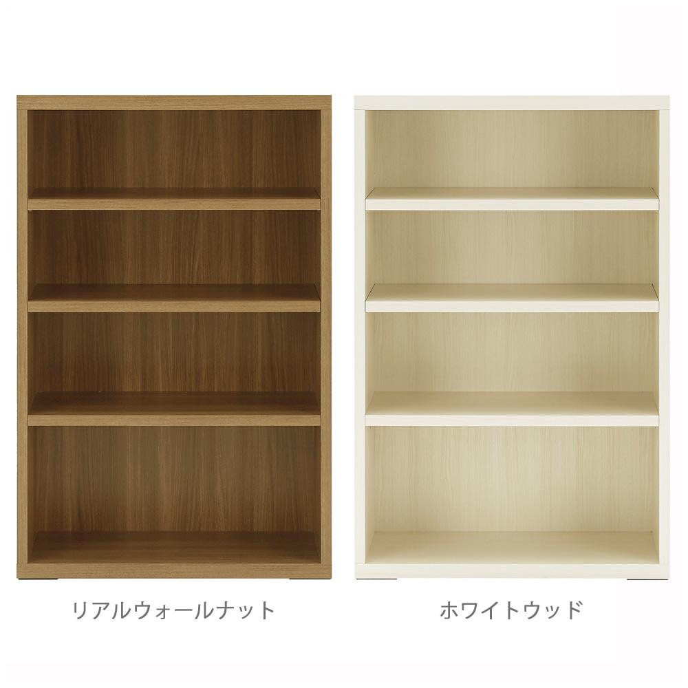 便利雑貨 フナモコ 日本製 LIVING SHELF 棚 オープン 743×367×1138mm ホワイトウッド・LFS-74