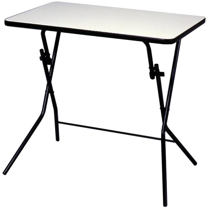 便利雑貨 ルネセイコウ スタンドタッチテーブル ニューグレー・ブラック 日本製 完成品 SB-75W