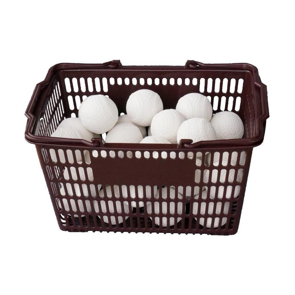 便利雑貨 コクサイ KOKUSAI KSプラクティスボールB号 軟式練習球 オフィシャルタイプ 3ダース カゴ付