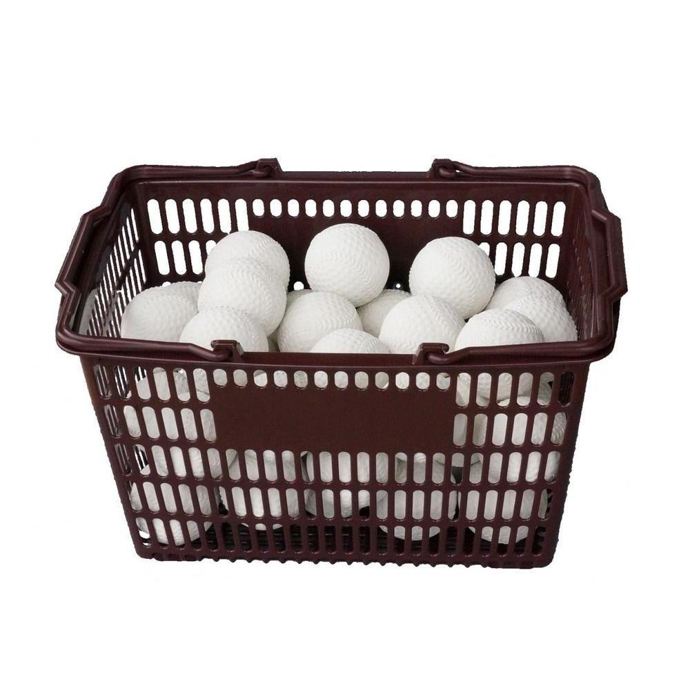 【単四電池 3本】付き軟式野球公認球に準じた国産練習球  日用品 便利 ユニーク コクサイ KOKUSAI KSプラクティスボールC号 軟式練習球 オフィシャルタイプ 3ダース カゴ付