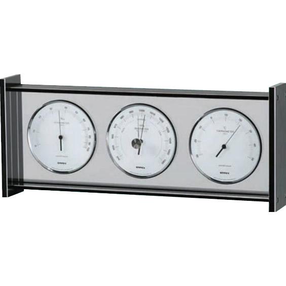 便利雑貨 スーパーEX ギャラリー気象計 EX-796□温湿度計 温度計・湿度計 計測工具 関連