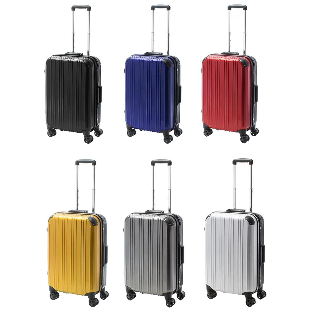 生活関連グッズ スーツケース ツートンハードキャリー Mサイズ ACT-002 ブルー・74-20252