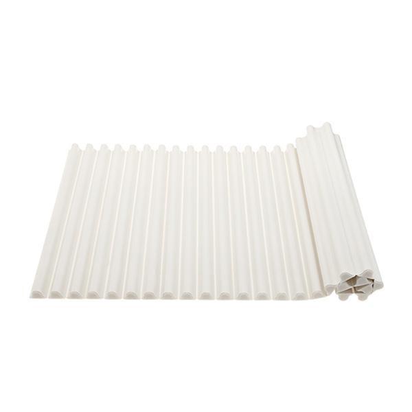 便利雑貨 風呂用品 シャッター式風呂フタ 750×1200mm ホワイト W7800-750X1200