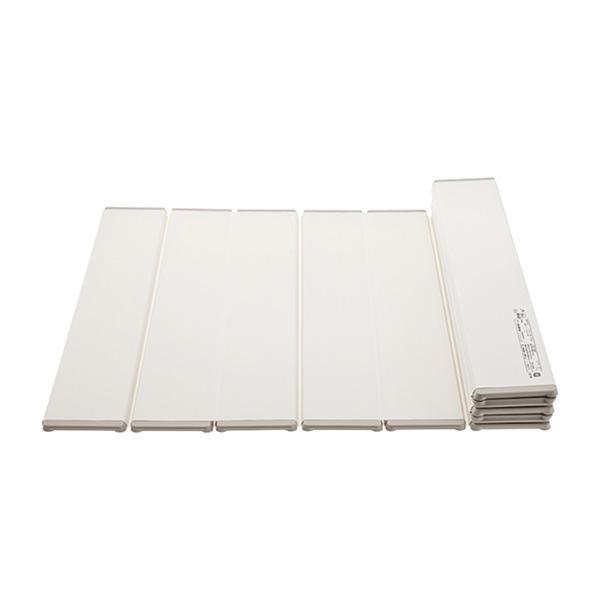 便利雑貨 風呂用品 折りたたみ風呂フタ 700×1000mm アイボリー W784-700X1000