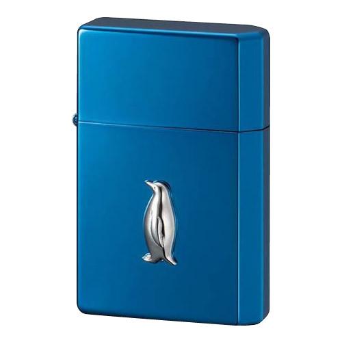 生活日用品 ペンギン オイルライター GEAR TOP ペンギンメタル イオンブルー