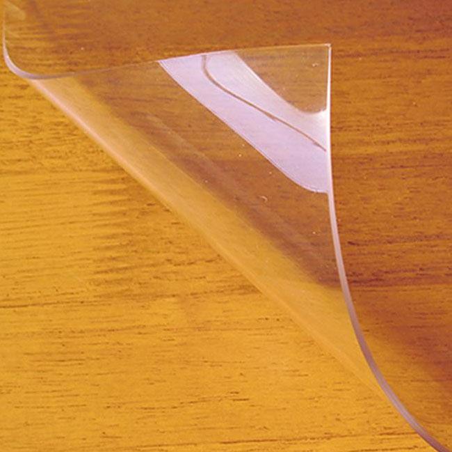 便利雑貨 日本製 両面非転写テーブルマット(2mm厚) クリアータイプ 約750×1200長 TH2-127