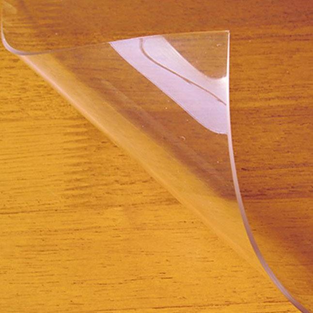 便利雑貨 日本製 両面非転写テーブルマット(2mm厚) クリアータイプ 約800×1350長 TH2-1358