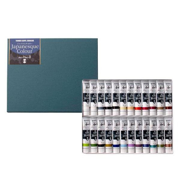 アクリルガッシュ 20ml ジャパネスクカラー24色セット(B) AGJ2024B人気 お得な送料無料 おすすめ 流行 生活 雑貨