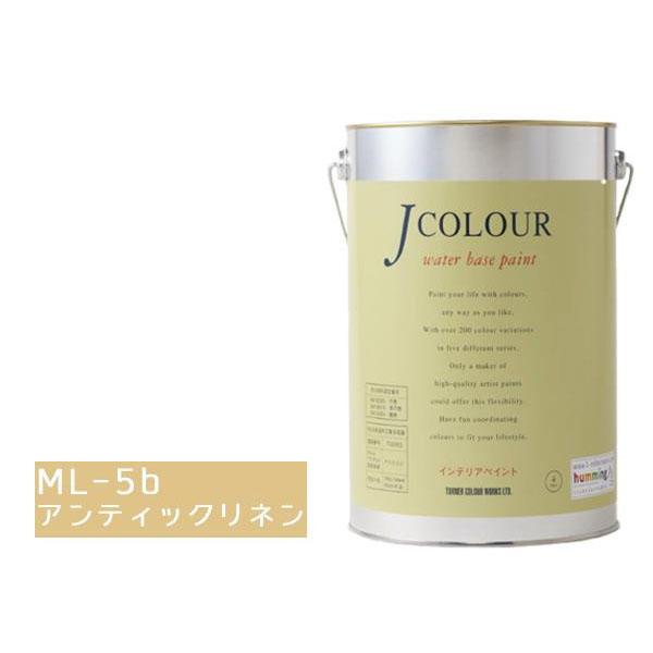 便利雑貨 水性インテリアペイント Jカラー 4L アンティックリネン JC40ML5B(ML-5b)