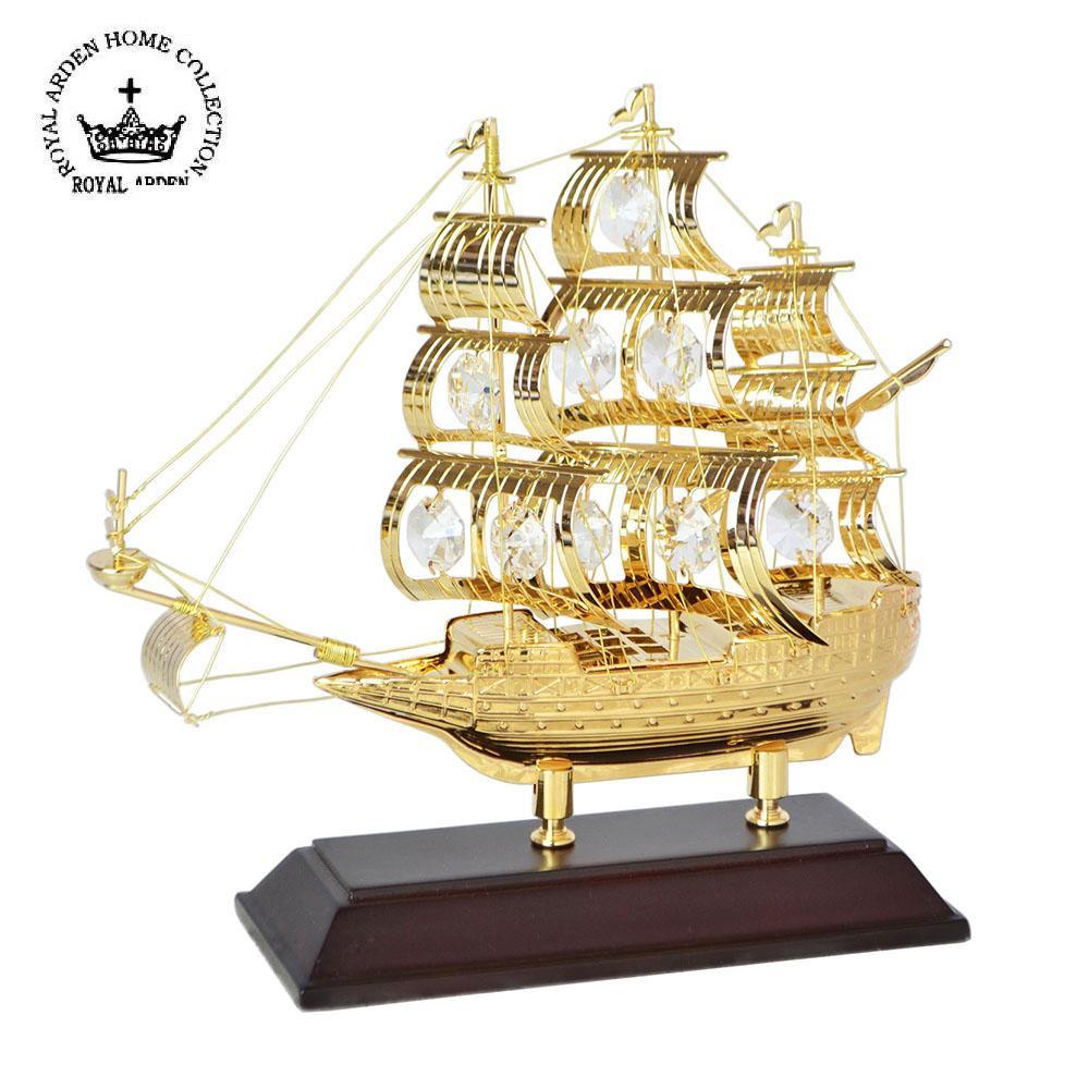 お役立ちグッズ スワロフスキー オーナメント 帆船 01666