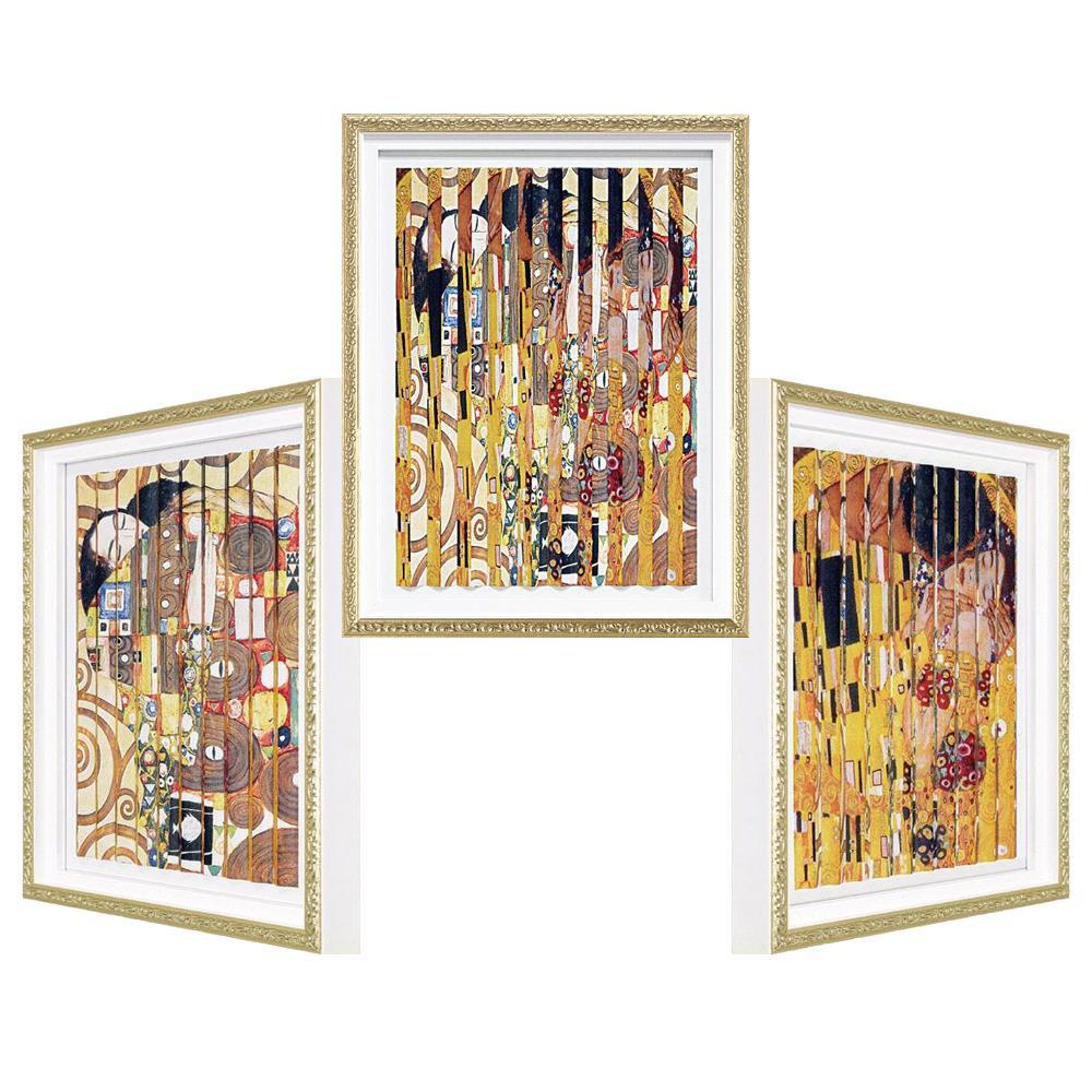 生活関連グッズ トリック ダブルアート クリムト 「抱擁」・「ザ・キス」 TD-06007