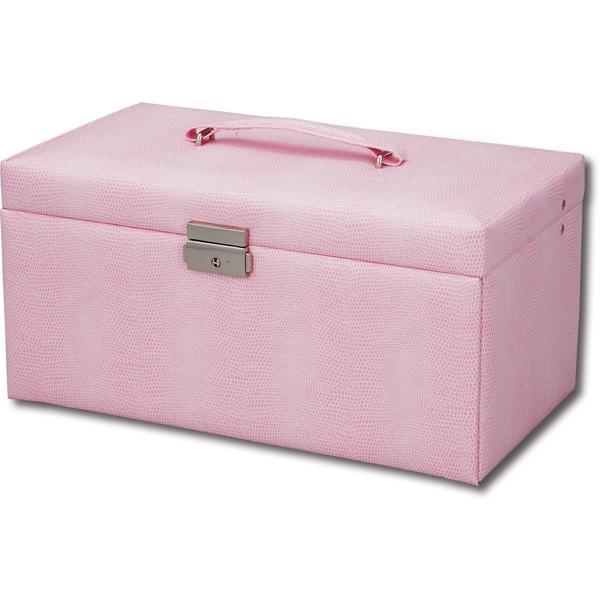 便利雑貨 Sweet Jewelry Box スウィートジュエリーボックス LLサイズ ピンク SB-07002
