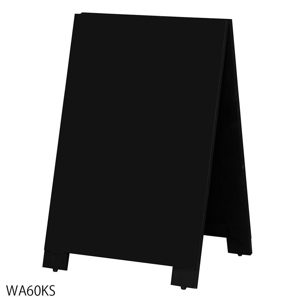 便利雑貨 木製A型案内板mini BLACK BOARD(黒板) WA60KS□黒板 プレゼンテーション用品 文房具・事務用品 関連