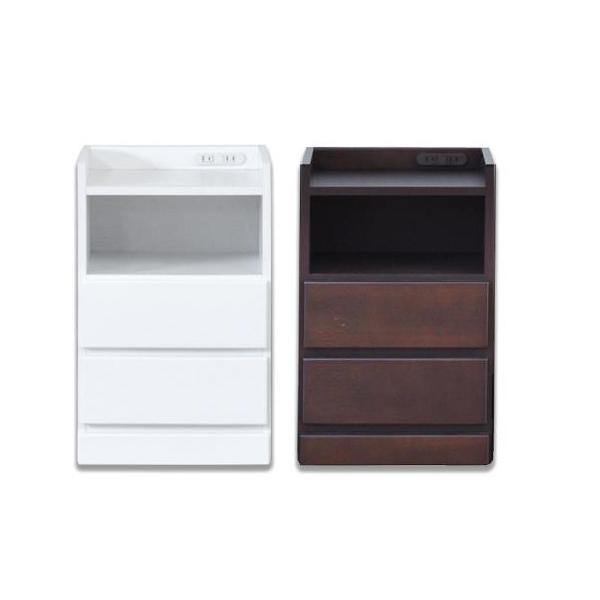 便利雑貨 ナイトテーブル W40 WH・ホワイト□サイドテーブル・ナイトテーブル テーブル インテリア・寝具・収納 関連