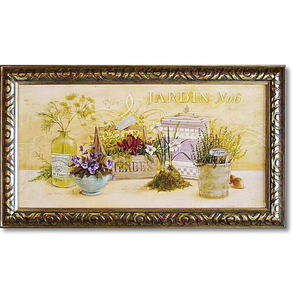 便利雑貨 アンジェラ スターリング アートフレーム 「キッチン ガーデン」 AS-08007