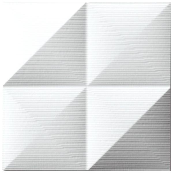 便利雑貨 プラデック ウォール アート ピラミッド(ホワイト) PL-05822