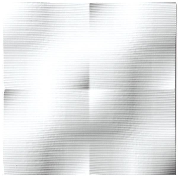 便利雑貨 プラデック ウォール アート ラフ(ホワイト) PL-05825