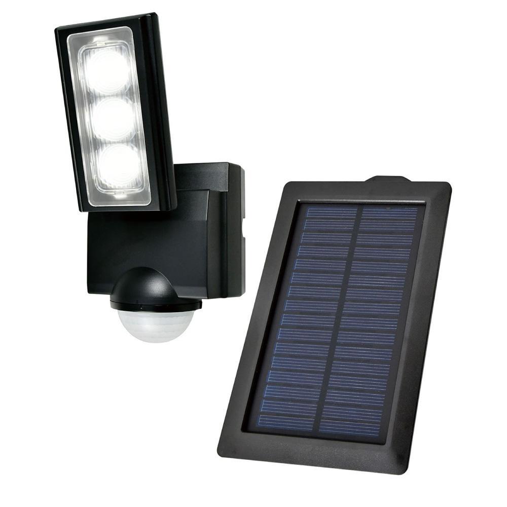 流行 生活 雑貨 屋外用LEDセンサーライト ソーラー発電式 ESL-311SL