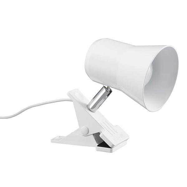 トレンド 雑貨 おしゃれ LEDクリップライト 9W 昼光色 ホワイト CLLE09D07WH