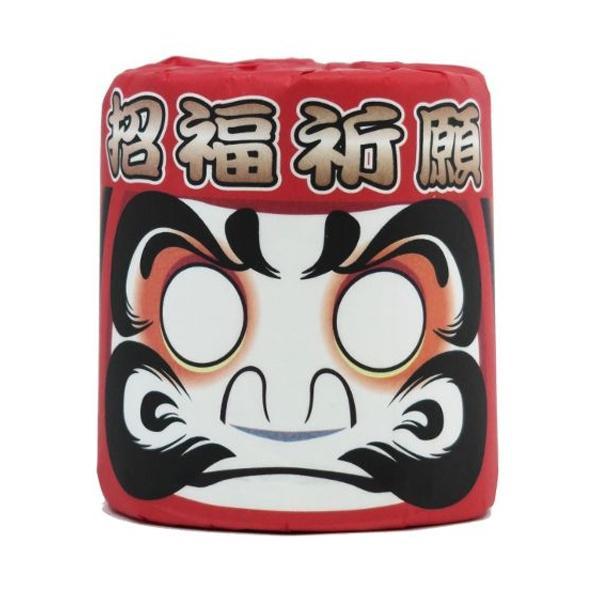 便利雑貨 招福ダルマ トイレットペーパー 100個入 2802