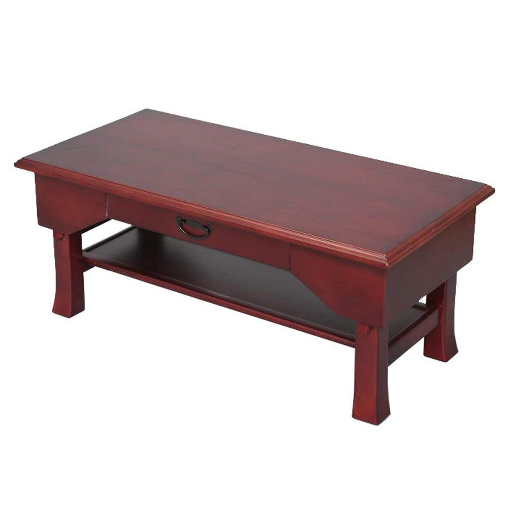 家具 イス テーブル関連 折りたたみ便利机 引き出し付き ブラウン SXDX-600BR
