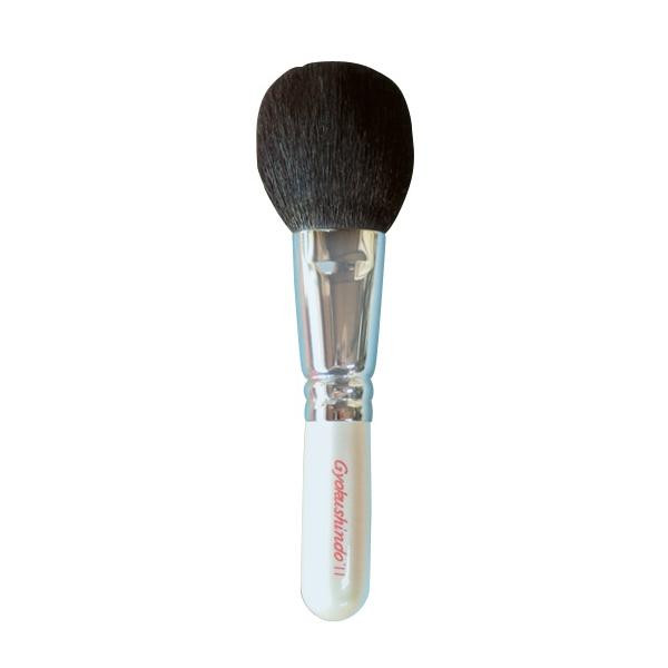 【薬用入浴剤 招福の湯 付き】毎日お使いいただけるチークブラシです。 化粧品関連 化粧筆 チークブラシ CH-07