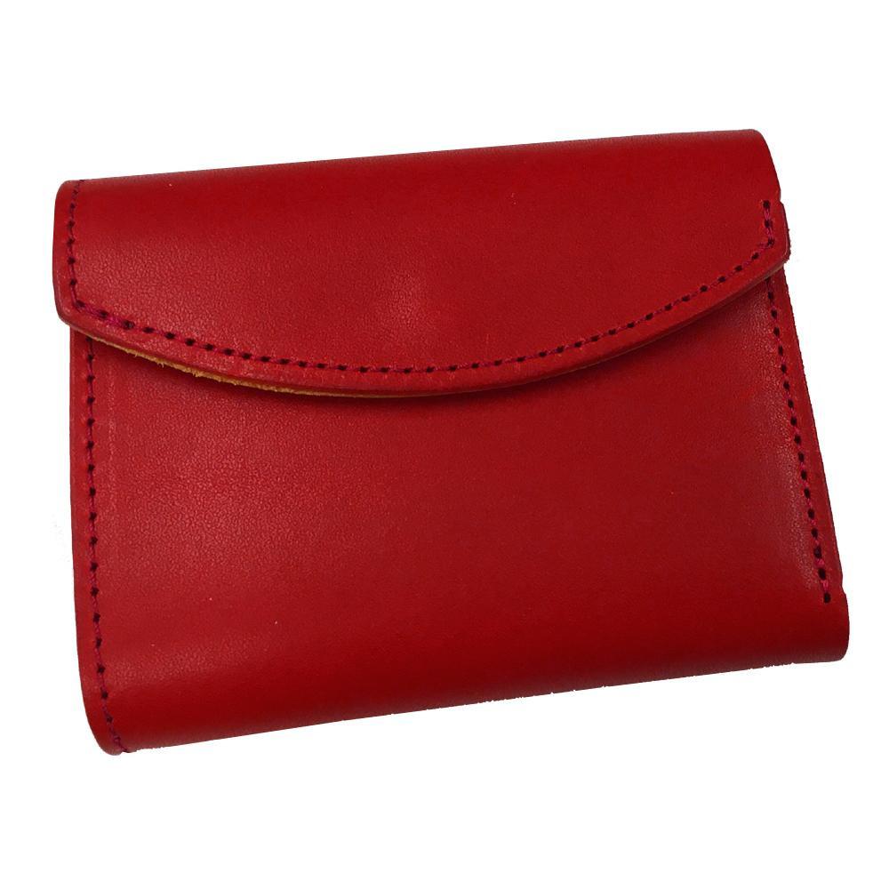 レザー フラップミニウォレット RED(07) TO285QG人気 お得な送料無料 おすすめ 流行 生活 雑貨