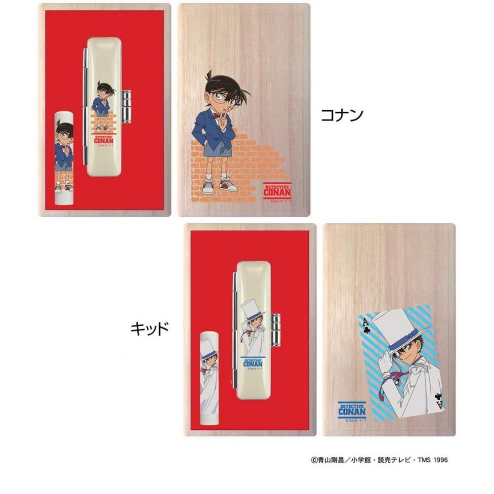流行 生活 雑貨 名探偵コナン 桐箱印鑑セット メールパック キッド・TSK-62360
