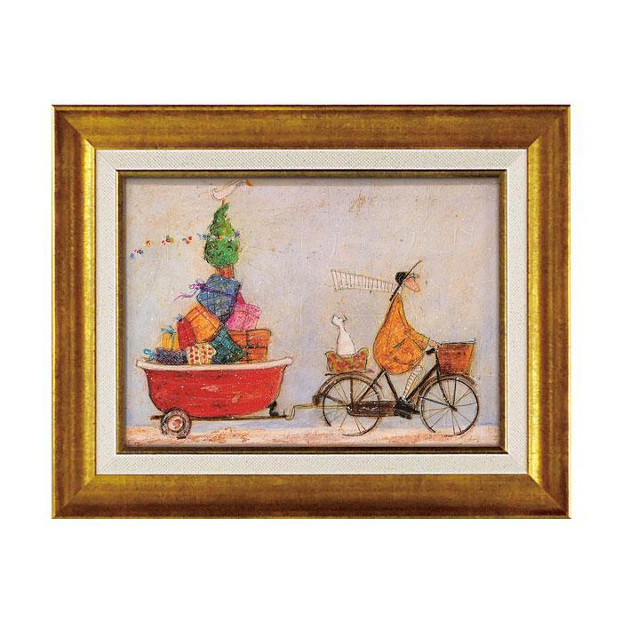 アートフレーム サム トフト 「バスタブいっぱいの元気」 ST-05841お得 な 送料無料 人気 トレンド 雑貨 おしゃれ