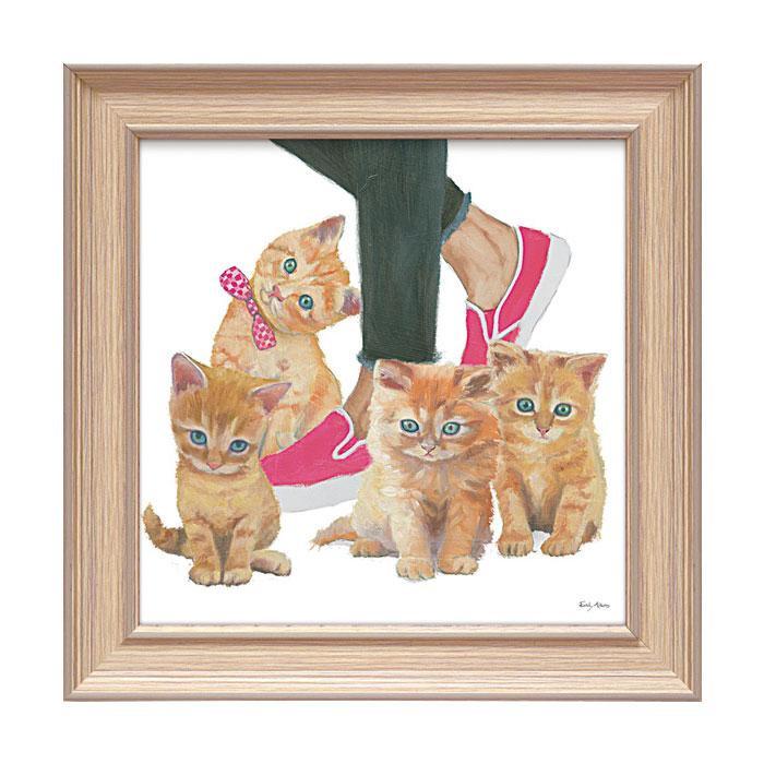アートフレーム エミリー アダムス 「キューティー キティ1」 EA-05016おすすめ 送料無料 誕生日 便利雑貨 日用品