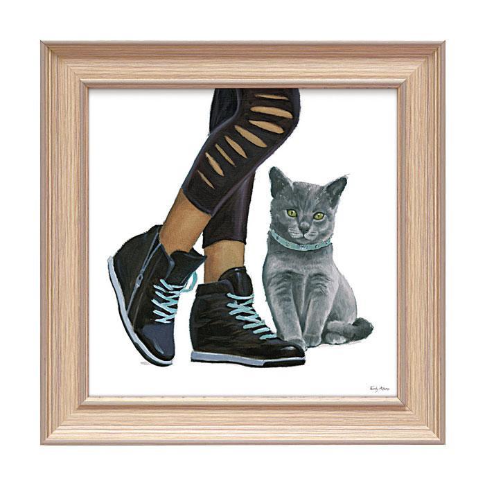 アートフレーム エミリー アダムス 「キューティー キティ5」 EA-05018おすすめ 送料無料 誕生日 便利雑貨 日用品