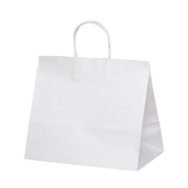 T-9W 自動紐手提袋 紙袋 紙丸紐タイプ 320×200×280mm 200枚 白無地 1098人気 お得な送料無料 おすすめ 流行 生活 雑貨