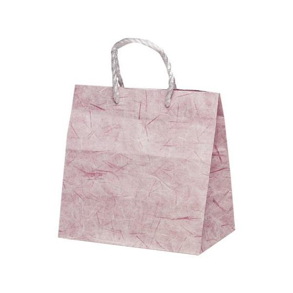 T-ミニ 自動紐手提袋 紙袋 PP紐タイプ 260×150×260mm 200枚 彩流(紫) 1639人気 お得な送料無料 おすすめ 流行 生活 雑貨