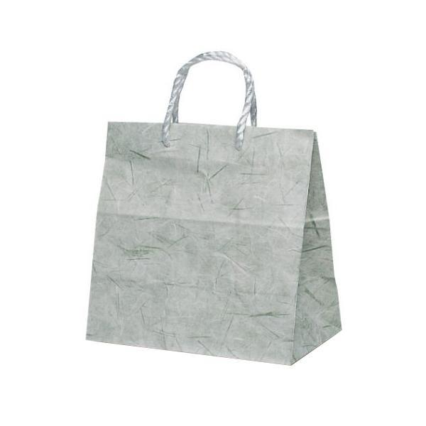 T-ミニ 自動紐手提袋 紙袋 PP紐タイプ 260×150×260mm 200枚 彩流(緑) 1641人気 お得な送料無料 おすすめ 流行 生活 雑貨