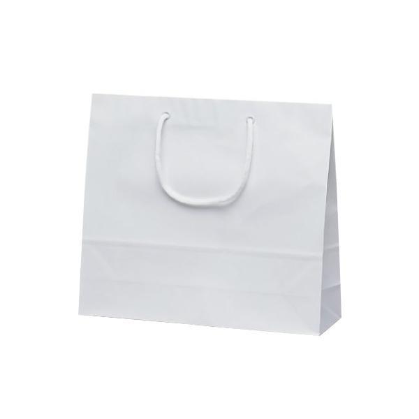 【単四電池 3本】付き高級感ある手提袋! 日用品 便利 ユニーク ファインバッグ 手提袋 330×100×290mm 50枚 ホワイト 1170