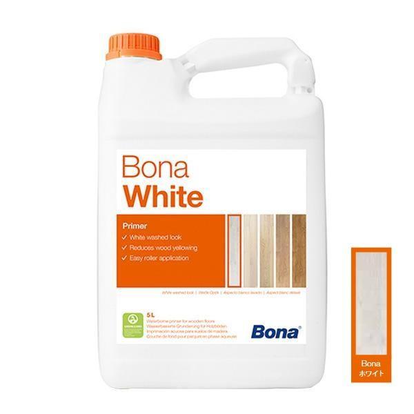 塗料 下地剤 Bonaホワイト 5L WB250620001