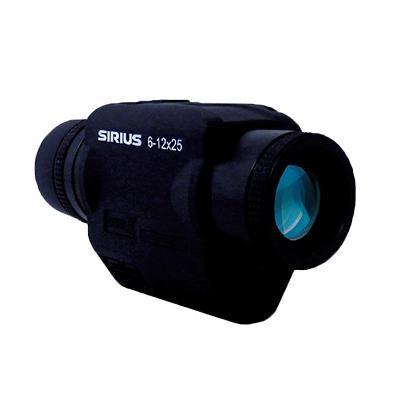 揺れ・手ブレを補正し、目標物を素早く的確に捕捉。 SIRIUS シリウス ズーム防振スコープ シリウス6-12×25