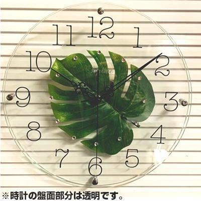 流行 生活 雑貨 アートフラワー 掛け時計 MO SW-1186