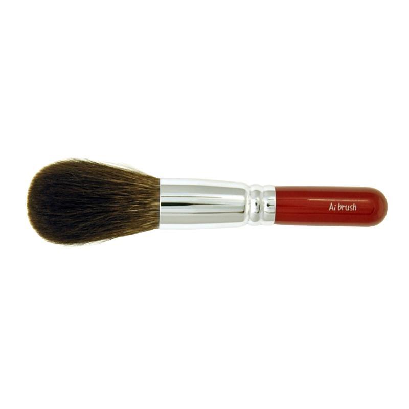 化粧品関連 ショート フェイス/パウダーブラシ「灰リス」 20-1S